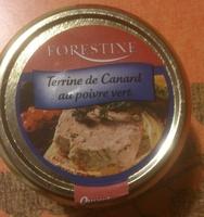Terrine de Canard au poivre vert - Produit