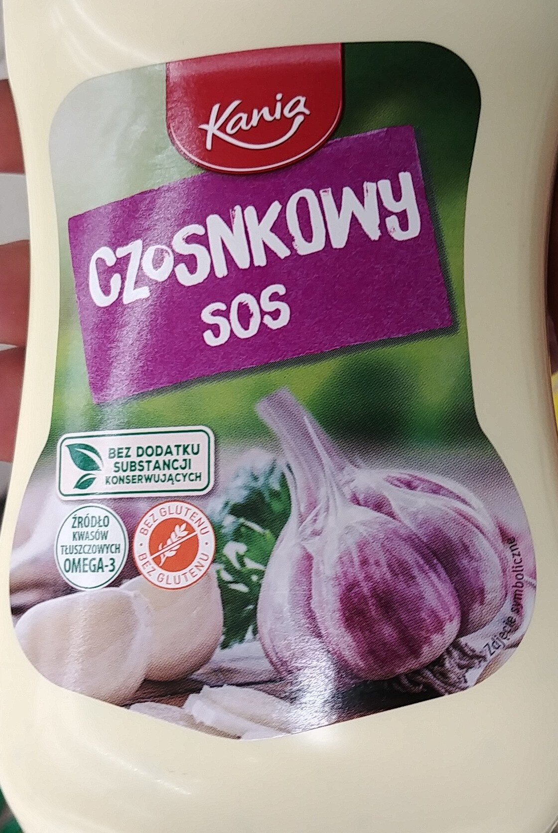 Sos czosnkowy - Product - pl