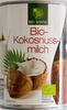 Bio-Kokusnussmilch - Produkt