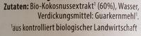 Bio-Kokusnussmilch - Ingrediënten - de