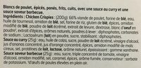 Chicken Crispies - Ingrediënten