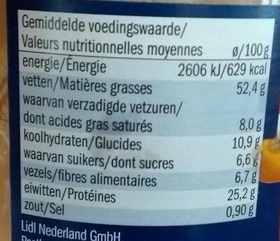 Crema de cacahuete - Informations nutritionnelles - fr