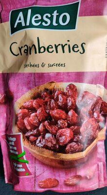 Canneberges (séchées/sucrées) - Produkt - fr