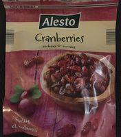 Cranberries Séchées et Sucrées - Produkt