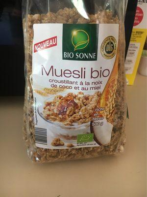 Muesli bio - Product - fr