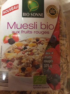 Muesli bio aux fruits rouges - Prodotto - fr