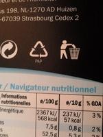 Chocolat au Lait Entier - Produit - fr