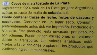 Corn Flakes - Ingredientes