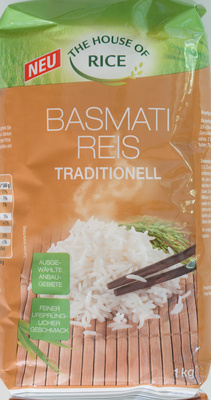 Basmati Reis Traditionell - Product