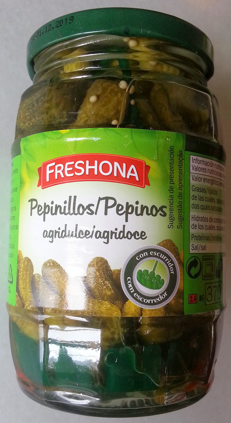 Pepinillos agridulces - Produkt - es