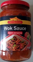 Sauce pour wok - pousses de bambou et poivrons - Produit - fr