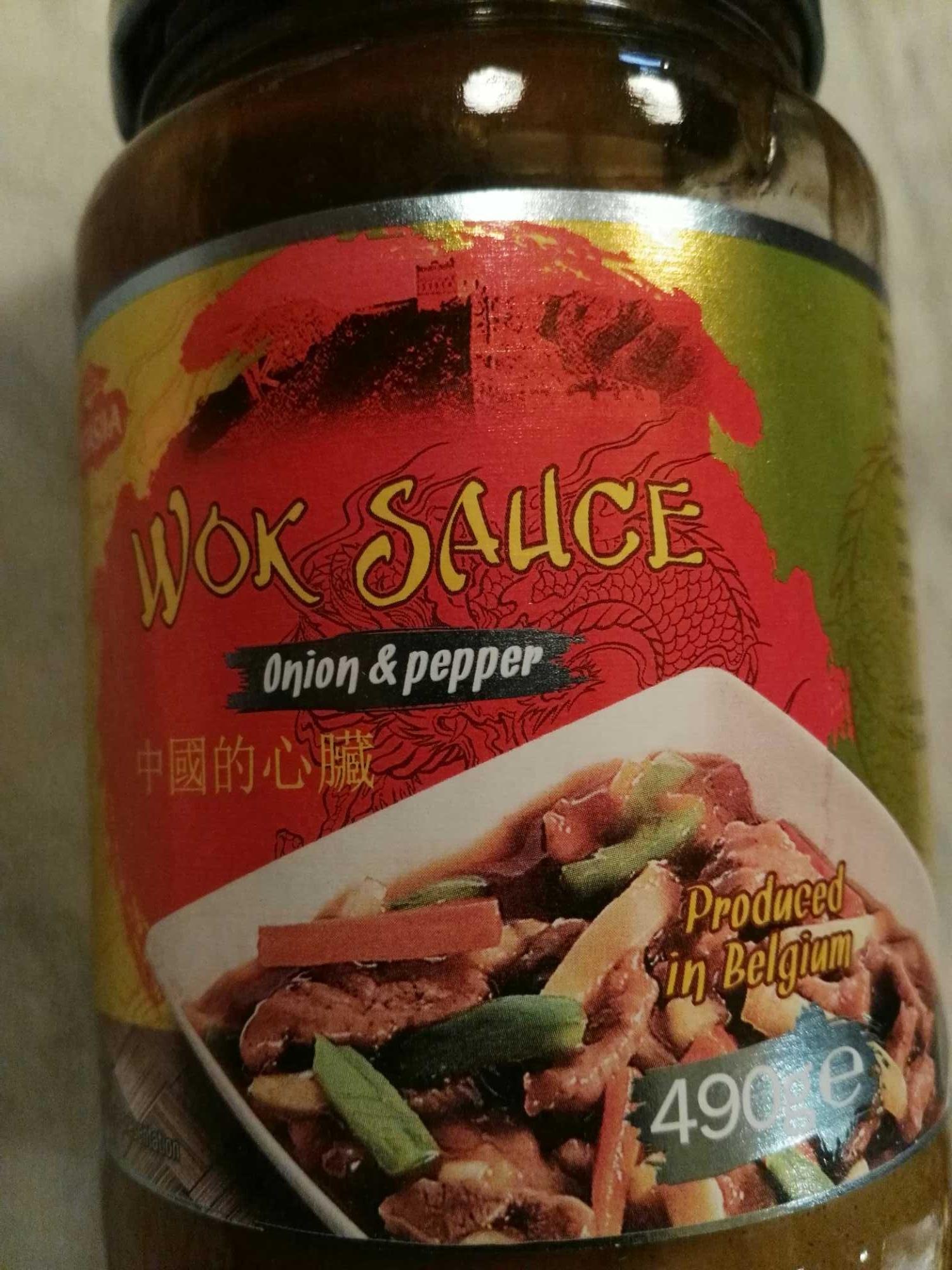 Wok sauce onion & poivrons - Product