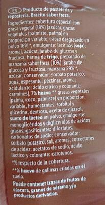 Bracitos sabor trufa o fresa - Ingredients - es