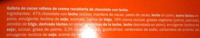 Hot drinking chocolate - Ingredients