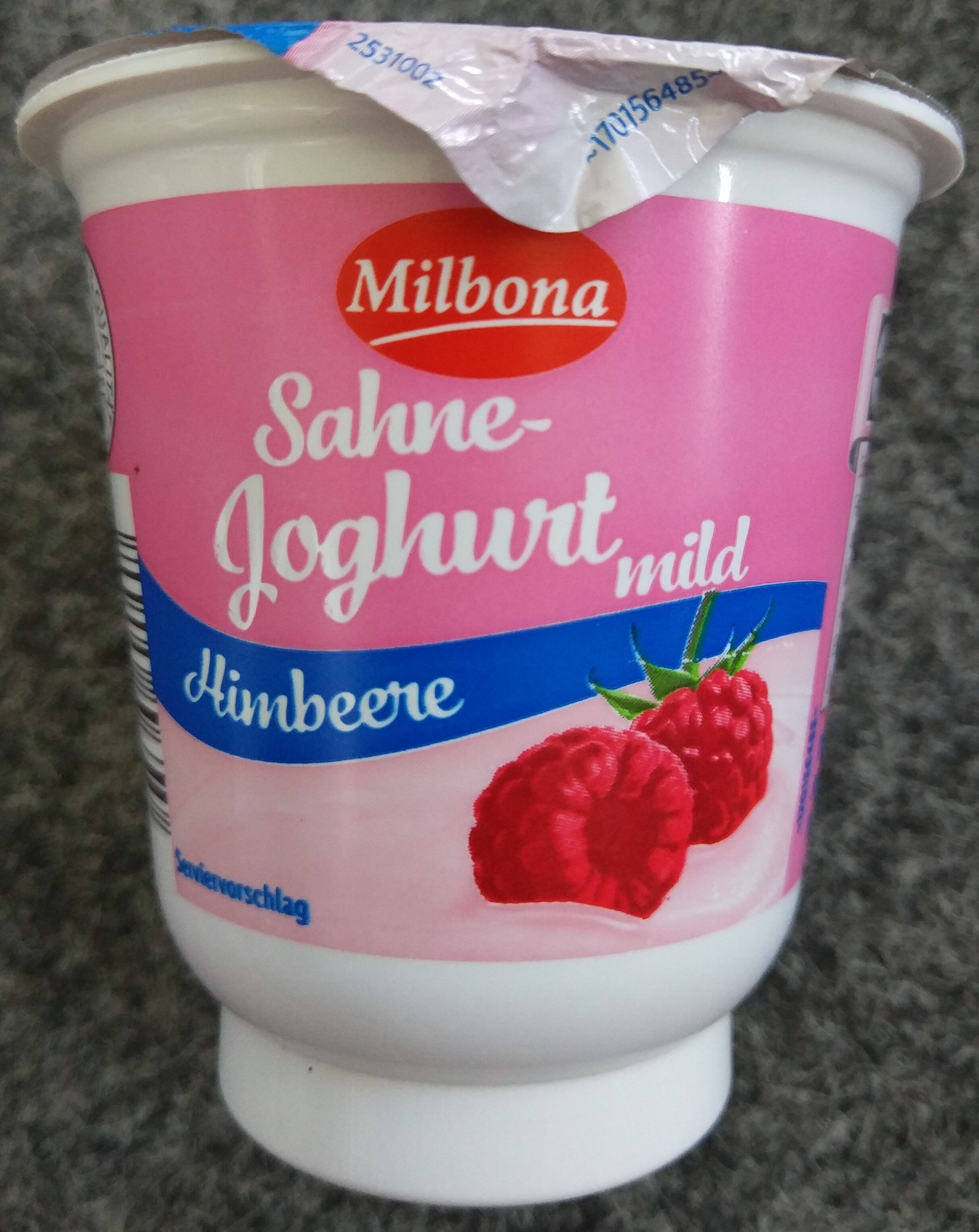 Milbona, Rasberry dessert - Produkt - de