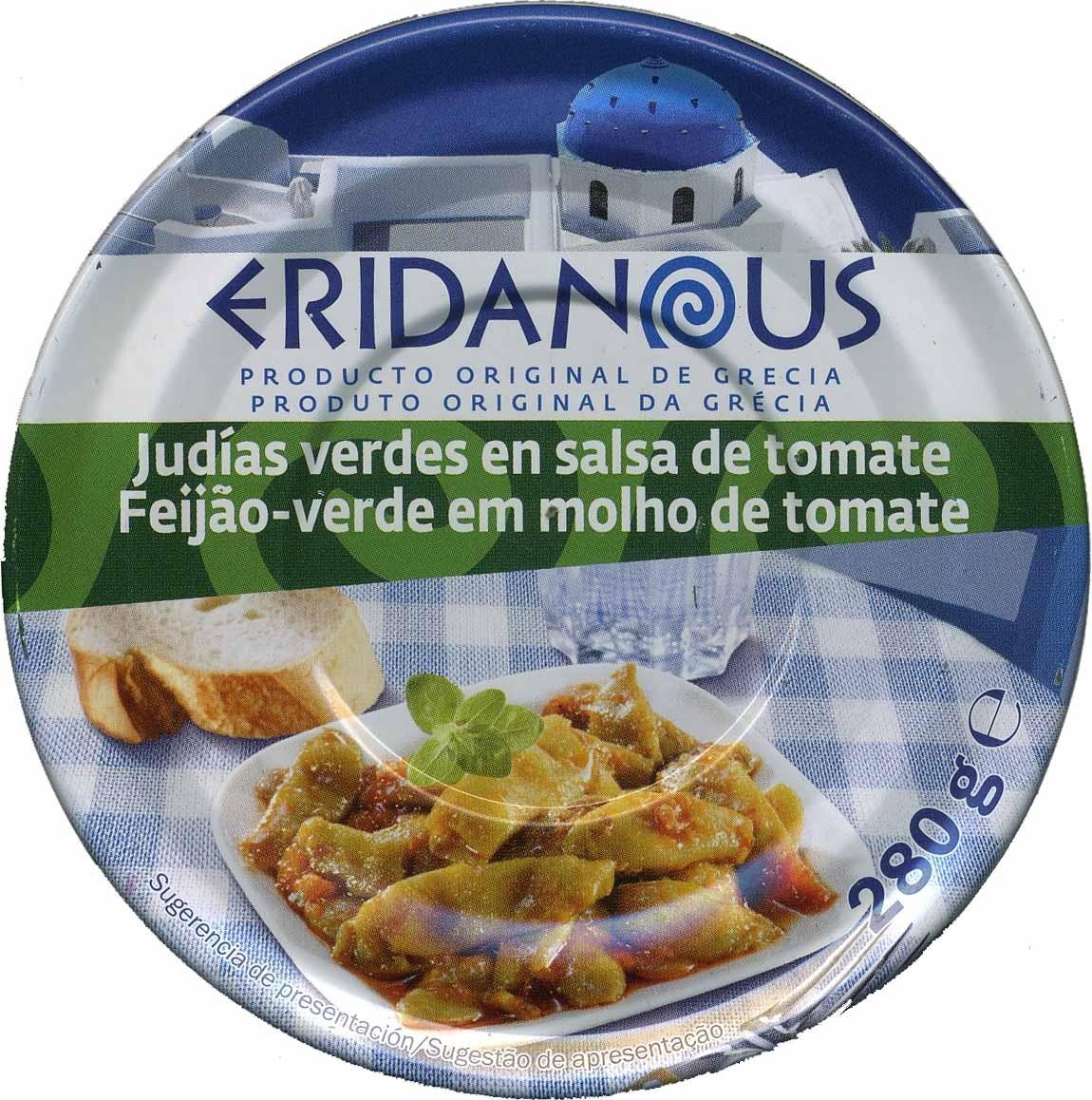 Judías verdes en salsa de tomate - Producte