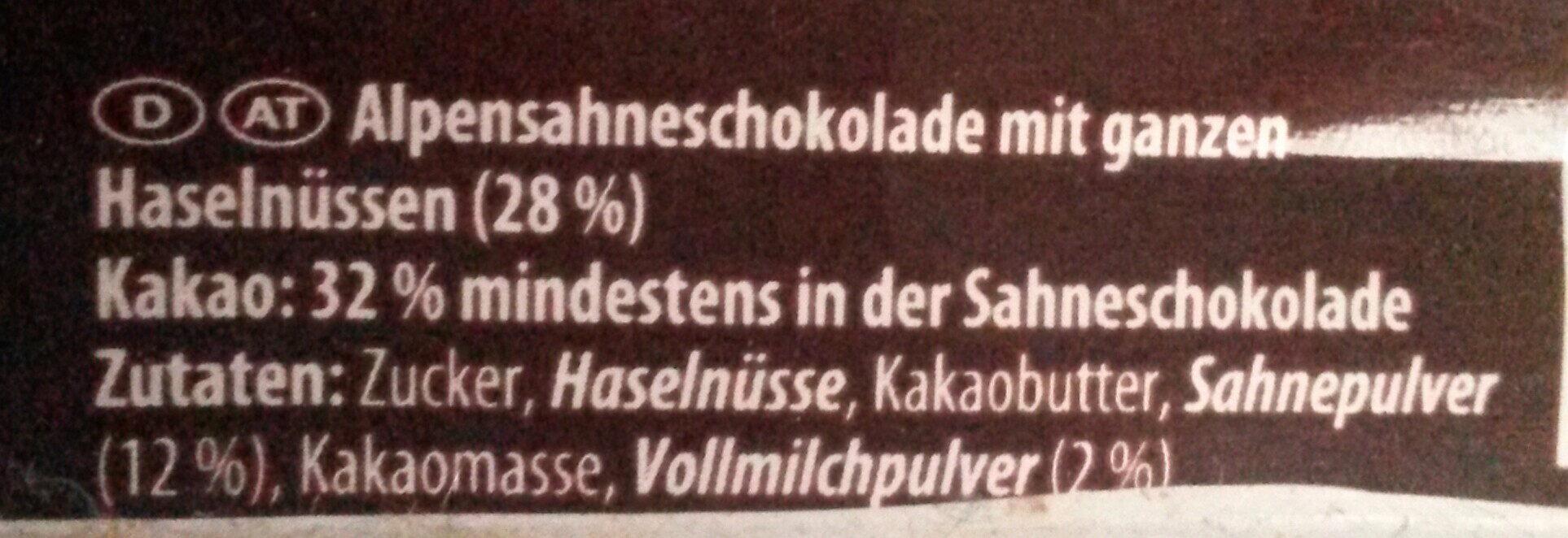 Ganze Haselnuss - Ingredients - de