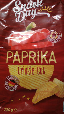 Paprikachips geriffelt - Produkt
