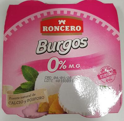 Queso blanco pasteurizado 0% materia grasa - Producto
