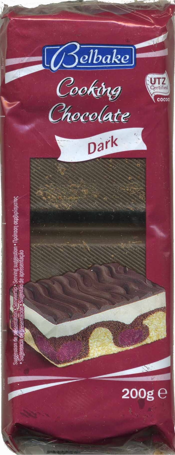 Cooking chocolate Dark 55% cacao - Product