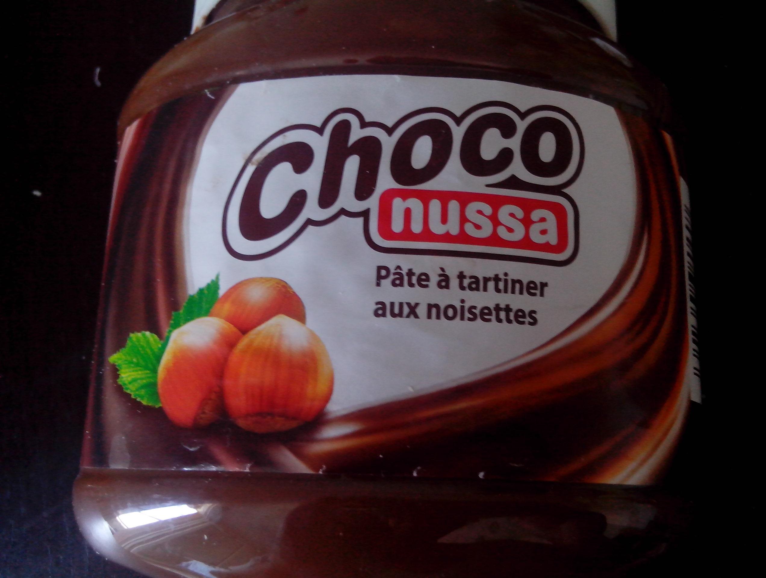 Choco nussa - Produit