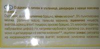 Bizcocho de limón - Ingrédients - fr