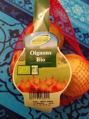Oignons bio - Produit - fr