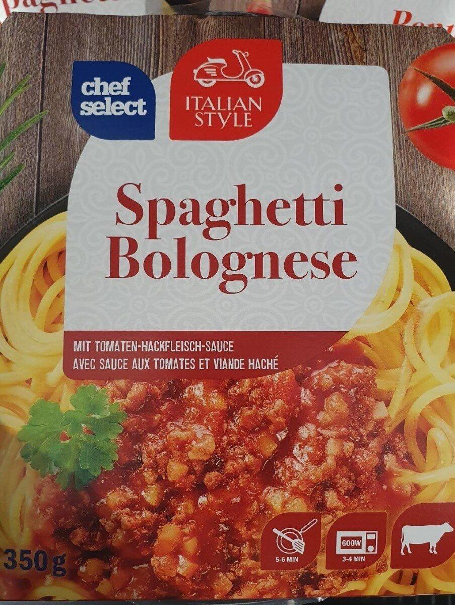 Spaghetti bolognese - Produit - fr