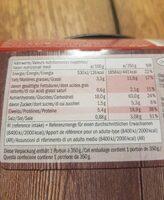 Spaghetti bolognese - Informations nutritionnelles - sv