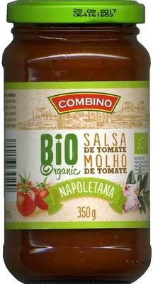 Salsa de Tomate Napoletana Bio - Product - es