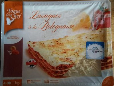 Lasagnes à la bolognaise - Product