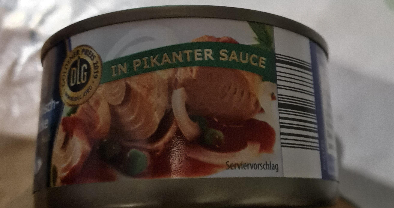 Thunfisch Stücke in pikanter Sauce - Produkt - de