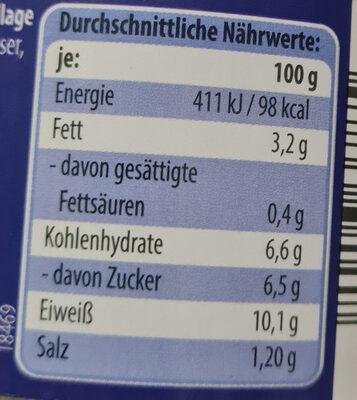 Thunfisch Stücke in pikanter Sauce - Zutaten - de