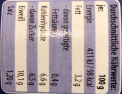 Thunfisch Stücke in pikanter Sauce - Nährwertangaben - de