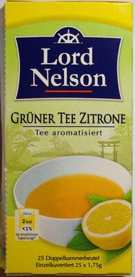 Grüner Tee Zitrone - Product