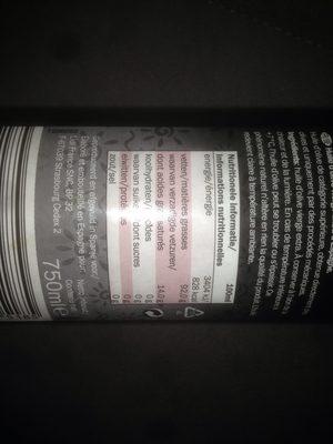 Natives Olivenöl extra - Inhaltsstoffe