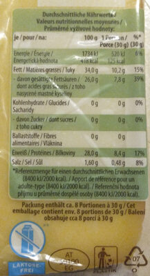 Mezze Cocciolette 500g - Nutrition facts - fr