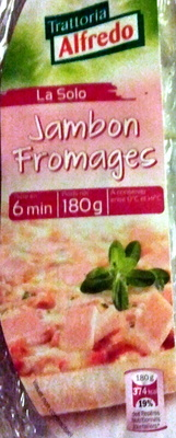 Pizza jambon fromages - Product
