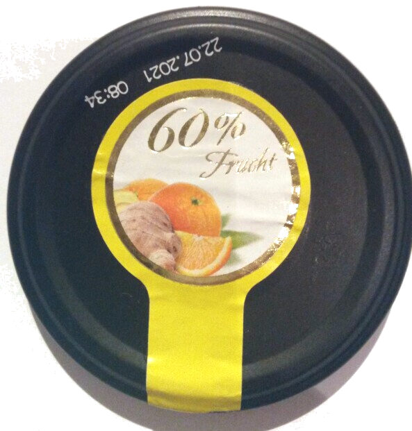 Fruchtgenuss, 60% Frucht, Orange-Ingwer - Product - de