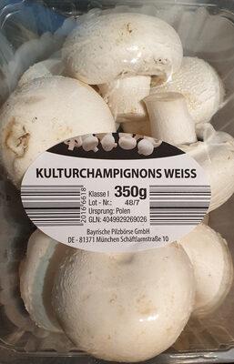 Kulturchampignons weiss / Champignons blancs - Product