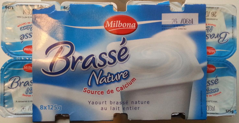 Brassé Nature - Produit