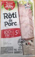 Rôti de porc 100% filet - Product