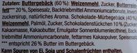 Danish Butter Cookies & Chocolate Chip Cookies - Inhaltsstoffe