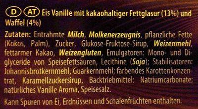 Eis-Sandwich Classic - Ingrediënten - de