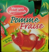 Compotes Pomme-Fraise - Product - fr
