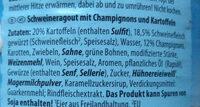 Fleischragout Ratsherren-Art - Ingredients
