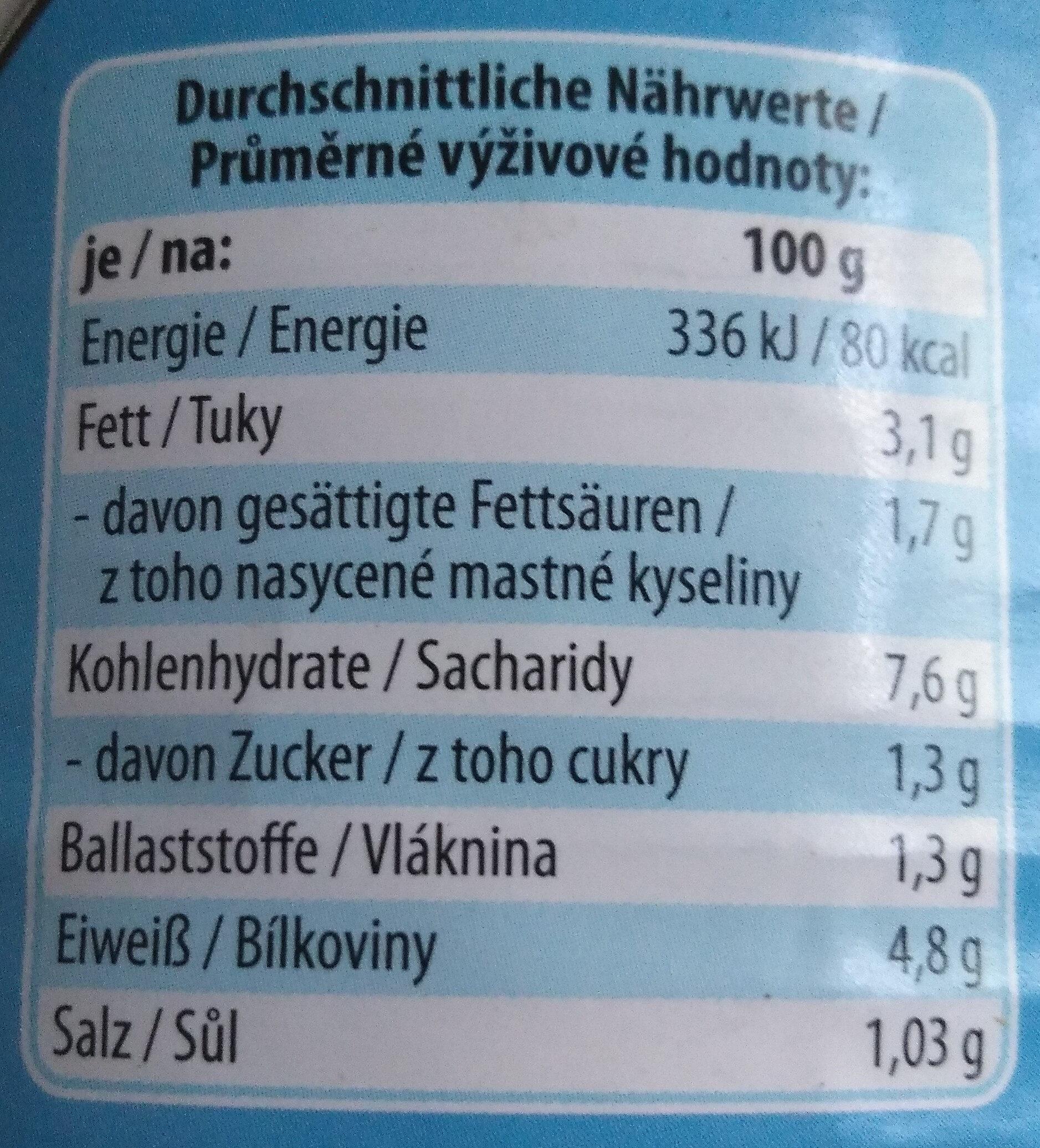 Fleischragout Ratsherren-Art - Nutrition facts