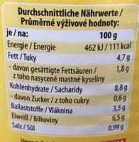 Erbsen Eintopf - Valori nutrizionali - de