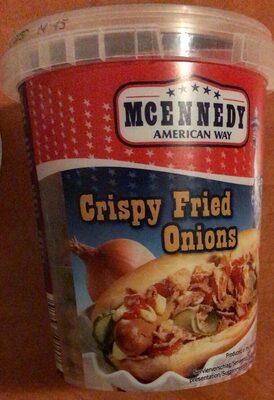 Crispy fried onions - Producto - de