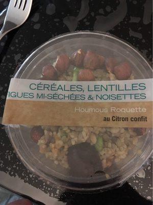 Cereales lentilles figues - Product